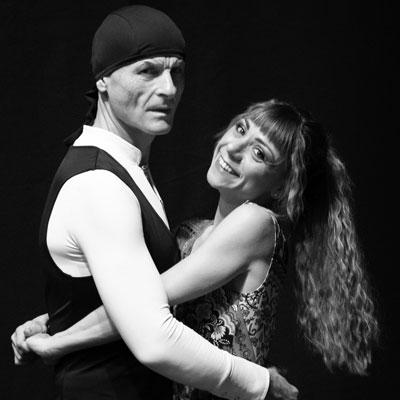 Laura Marchesi e Leonardo Savoldini