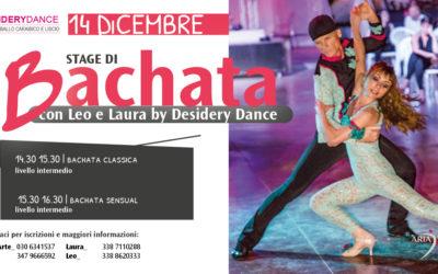 Stage di Bachata 14 Dicembre